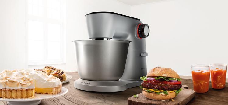 potrawy przyrządzone z pomocą robota kuchennego Bosch