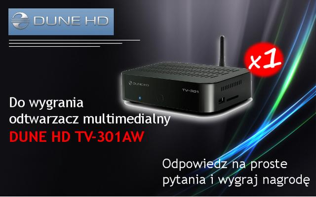 Konkurs - do wygrania DUNE HD TV-301AW