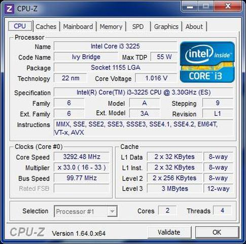 i3 3225 cpu-z