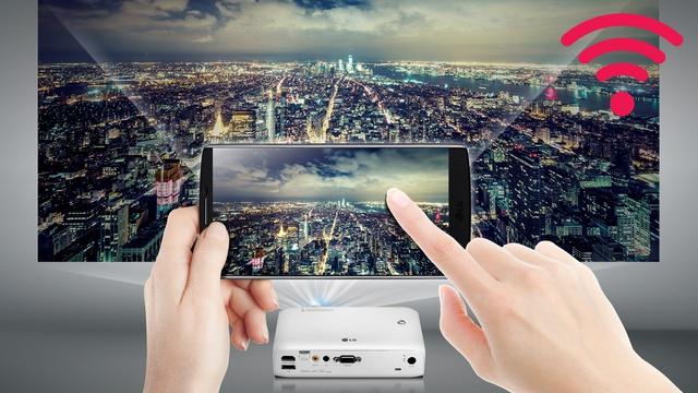 Łączność BT z projektorami LG