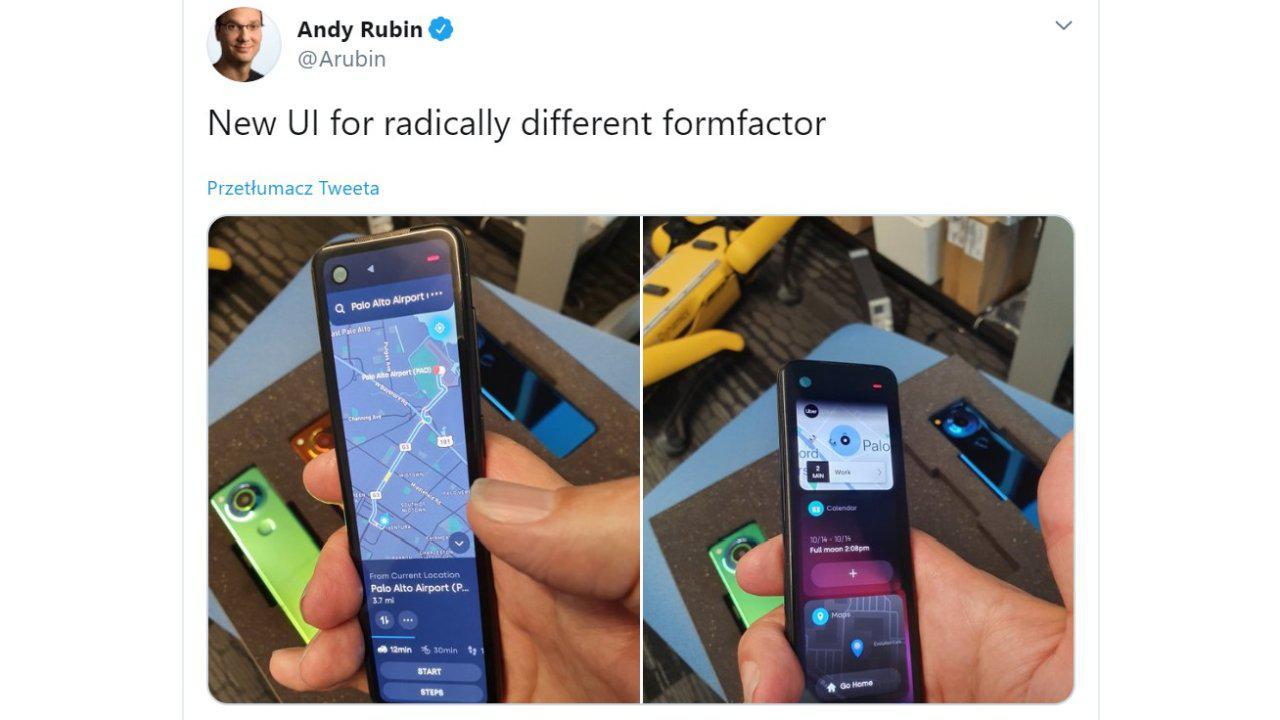 Essential Gem to urządzenie kształtem przypominające pilota