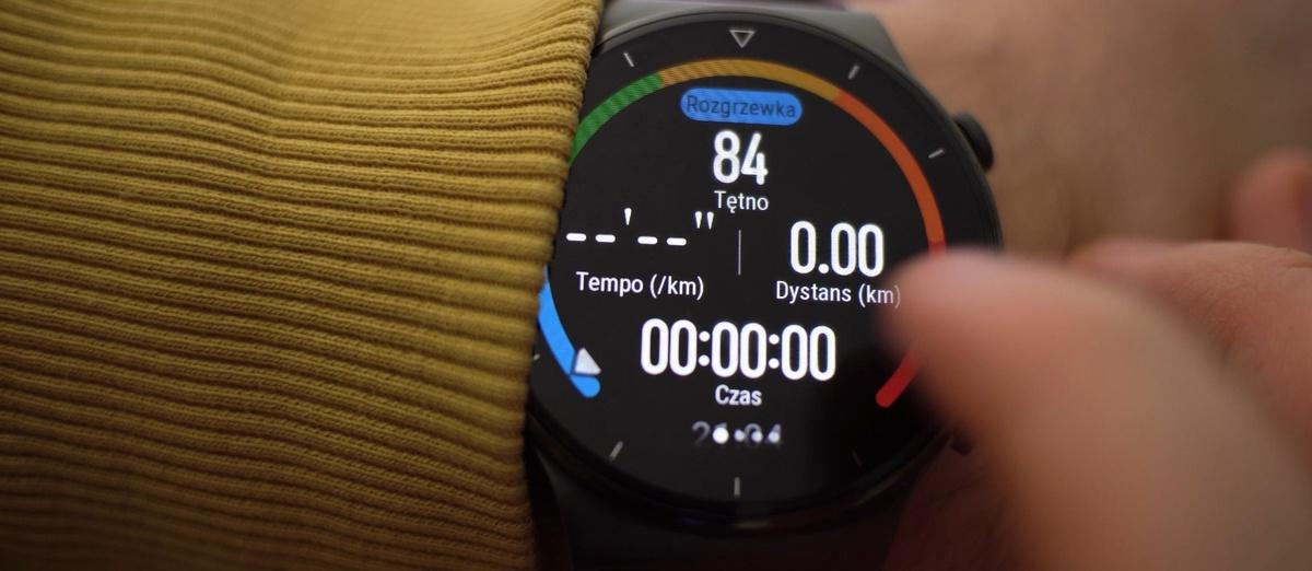 Pomiar aktywności w Huawei Watch GT 2 Pro jest dokładny