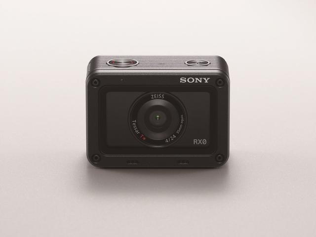 miniaturowy aparat od sony