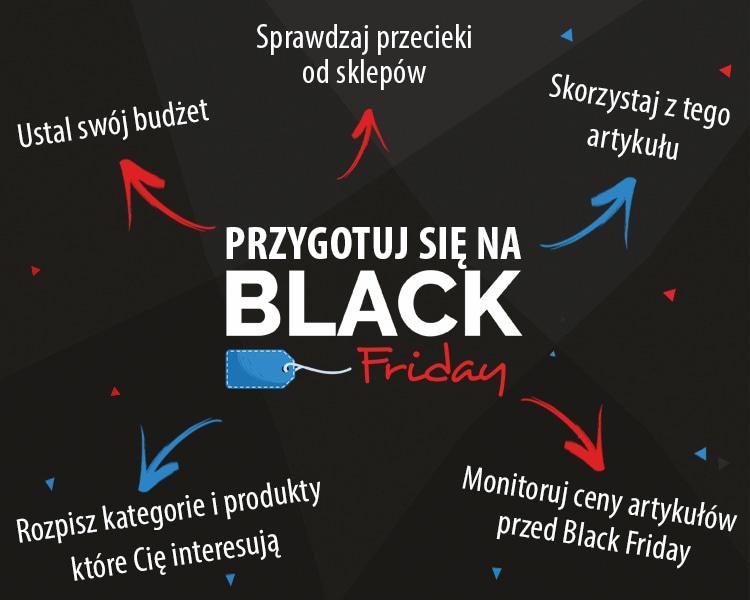 jak przygotować się na black friday inforgrafika