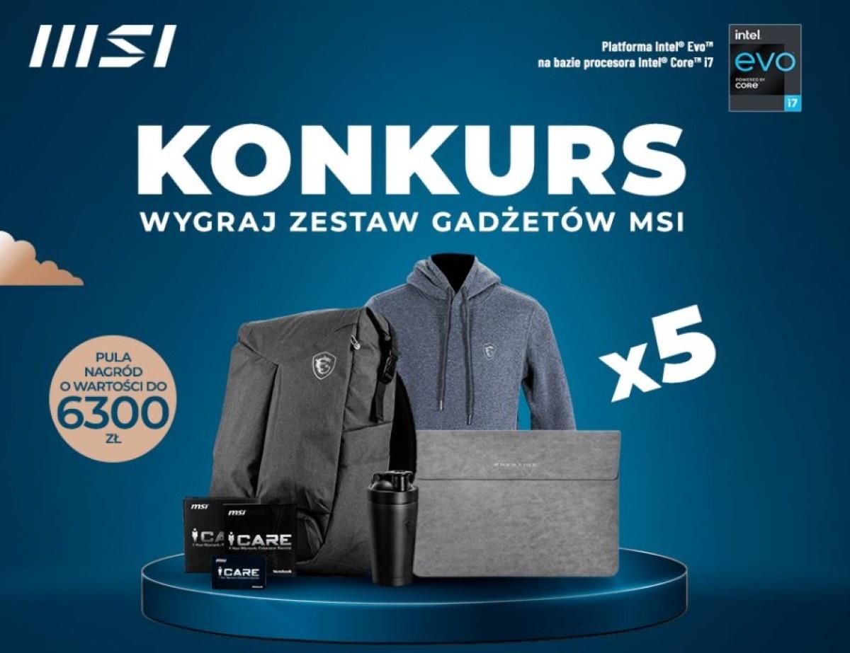 Konkurs MSI - pula nagród do 6300 złotych