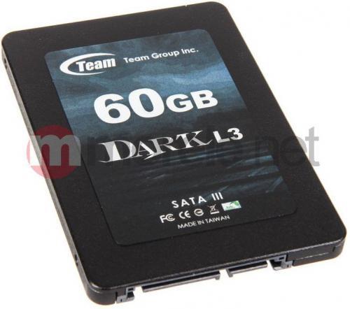 Team Group DARK L3 60 GB SATA3 (T253L3060GMC101)