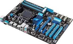 Asus M5A97 PLUS, A970, AM3+, PCX, DZW, GLAN, SATA3, USB2, RAID, DDR3, CROSSFIRE (M5A97 PLUS)