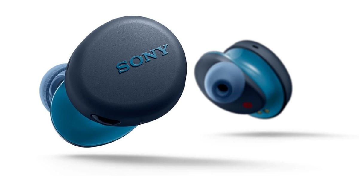 Sony WF-XB700 w kolorze niebieskim