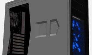 Corsair Graphite 230T Windowed BLACK/BLUE LED