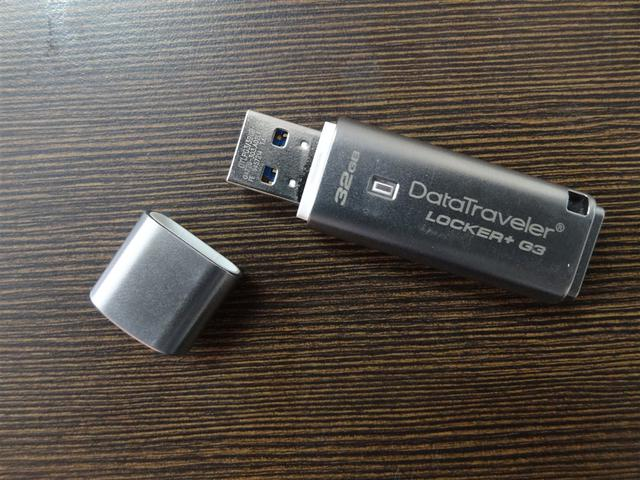 Pendrive zgodny z RODO Kingston Locker+ G3
