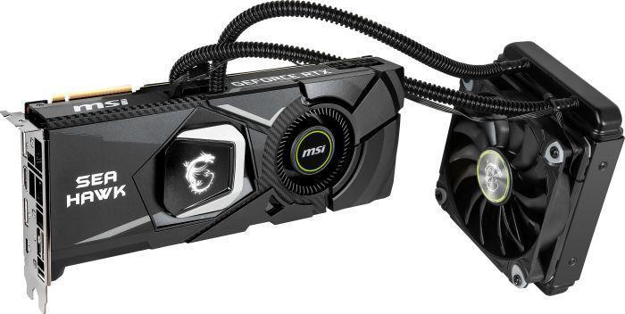 MSI GeForce RTX 2080 SEA HAWK X 8GB GDDR6 (256 Bit), HDMI, 3xDP,