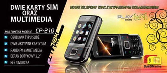 Trak CP-050 - nieskomplikowany telefon dla wymagających