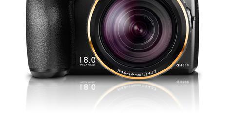 BenQ GH800 - ergonomiczny aparat o sporych możliwościach