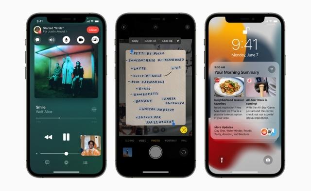 Nowości w iOS 15 dotrą nawet do iPhone'a 6S