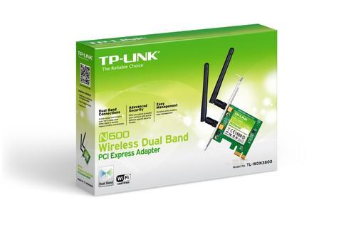 TP-LINK WDN3800 karta WiFi N600 PCI-E DualBand