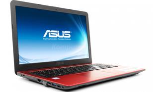 ASUS R541UA-DM1406T - Czerwony - 120GB SSD