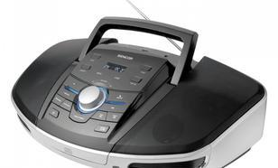 SENCOR Radioodtwarzacz SPT 280, CD/CD-R/CD-RW/MP3/USB, budzik