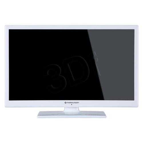 """TV 24"""" LCD LED Ferguson V24125LW (Tuner Cyfrowy 50Hz USB )"""