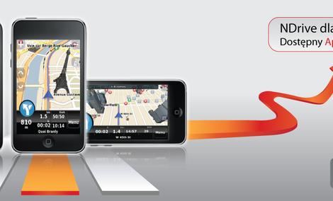 NDrive - czyli nawigacja GPS dla użytkowników iPhone'a