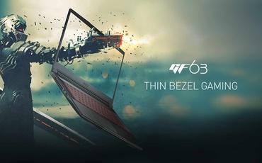 MSI Thin Bezel Gaming - Laptopy gamingowe z cienkimi ramkami