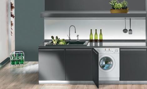Pralka w kuchni – za i przeciw