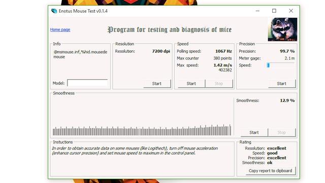 Testowanie Myszki Steelseries Rival 110