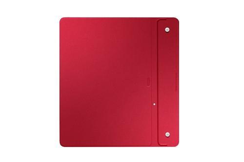 "Samsung Etui w formie ""book cover"" tylko na przód / Simple cover do GALAXY Tab S 10.5 AMOLED / Chagall (T800/T805) - czerwone"