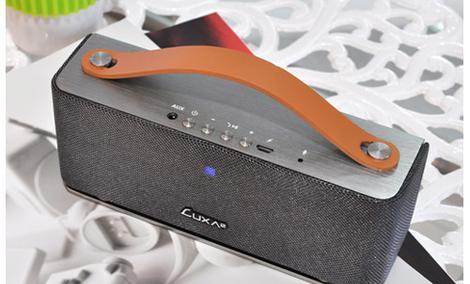 Prezentacja głośnika Bluetooth LUXA2 Groovy
