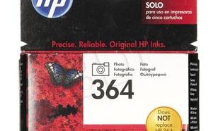 HP Tusz Foto Czarny HP364=CB317EE, 250 str., 3 ml