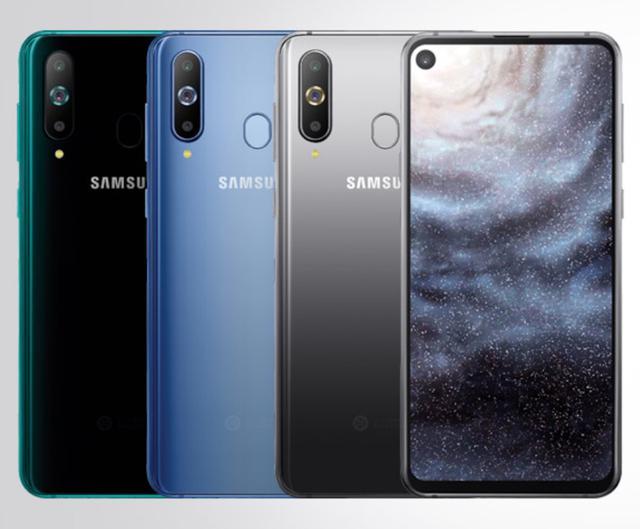 Samsung Galaxy A8s ma ekran z dziurą na aparat