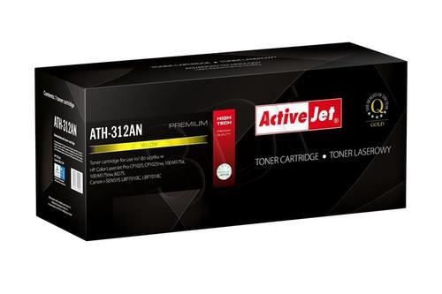 ActiveJet ATH-312AN żółty toner do drukarki laserowej HP (zamiennik 126A CE312A) Premium