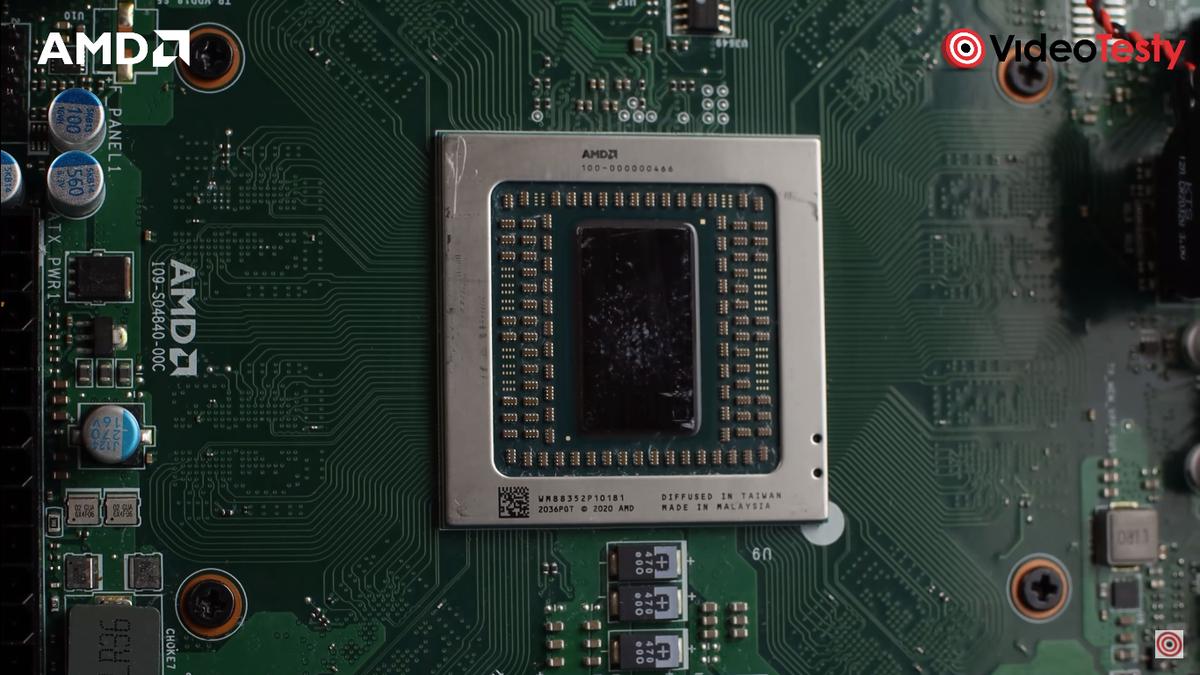 Procesor AMD w komputerze biurowym Actrina