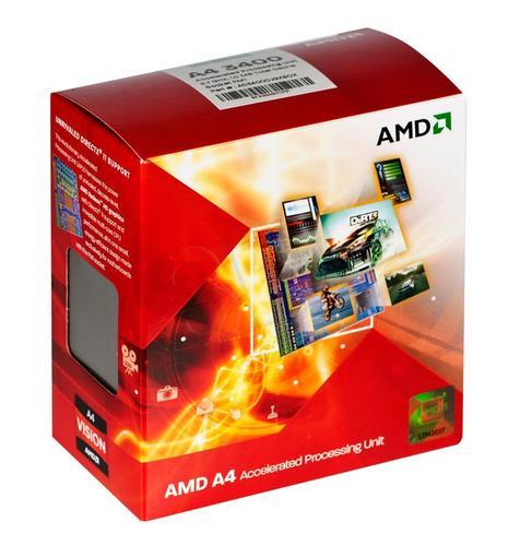 AMD APU X2 A4-3400 2.7GHz BOX (FM1) (65W)