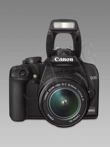 CANON EOS 1000D EF18-55MM 75-300MM