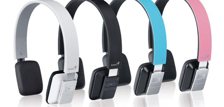 Lekkie i wygodne słuchawki Bluetooth od Geniusa