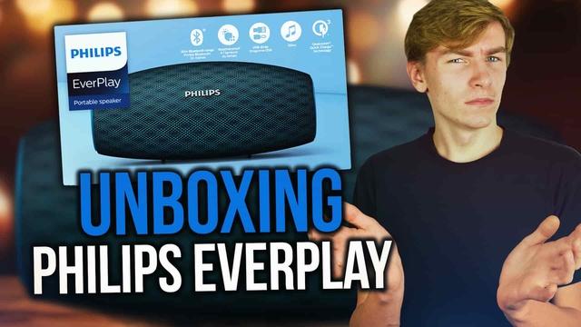 Unboxing Głośnika Bluetooth Philips EVERPLAY BT7900!