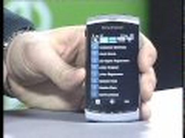 Sony Ericsson Vivaz - wygląd desktopu i funkcjonalność