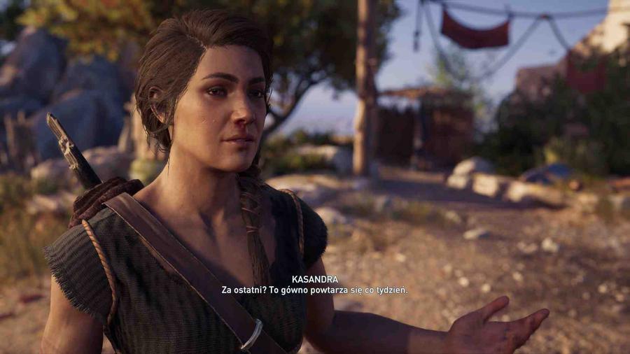 Assassin's Creed Odyssey - Wybór jest prosty. KASANDRA!