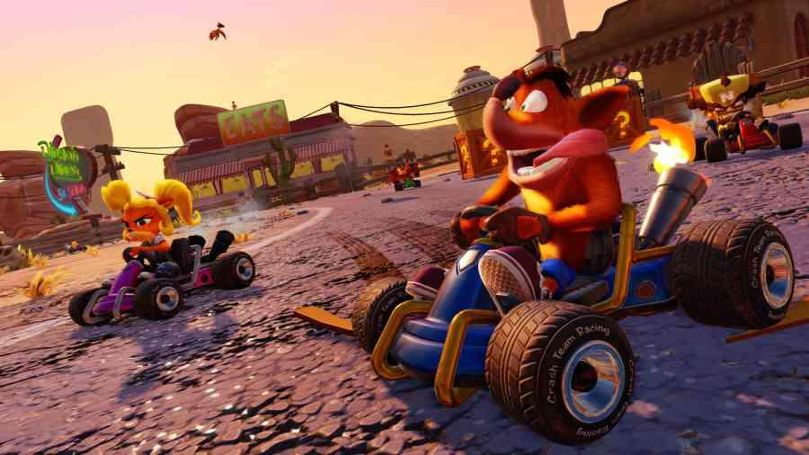 Crash Team Racing Nitro-Fueled - Wyścigi