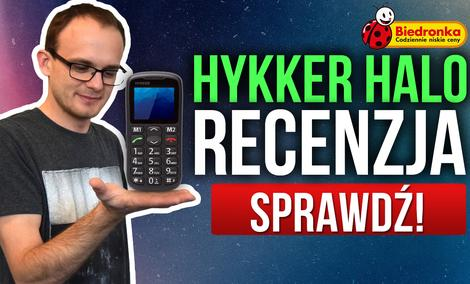 Hykker Halo - Bardzo Tani Telefon z Biedronki
