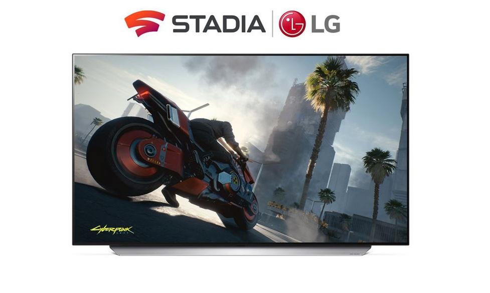 Nowe telewizory LG z natywnym wsparciem dla Google Stadia