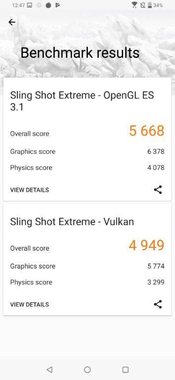 Wynik Asusa Zenfone 6 w 3D Mark