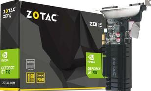 Zotac GeForce GT 710 1GB DDR3 (64 bit) HDMI, DVI, VGA (ZT-71304-20L)