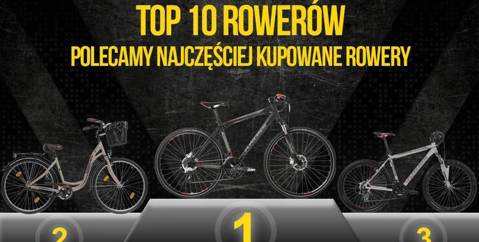 Ranking TOP 10 Rowerów – Polecamy Najchętniej Kupowane Rowery