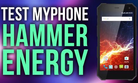 MyPhone Hammer Energy - Test