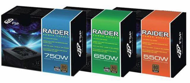 FSP RAIDER - zasilacze komputerowe z wysokiej półki
