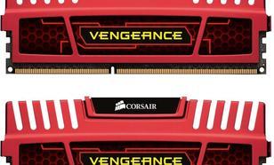 Corsair DDR3 VENGEANCE 8GB/1600 (2*4GB) CL8-8-8-24 RED