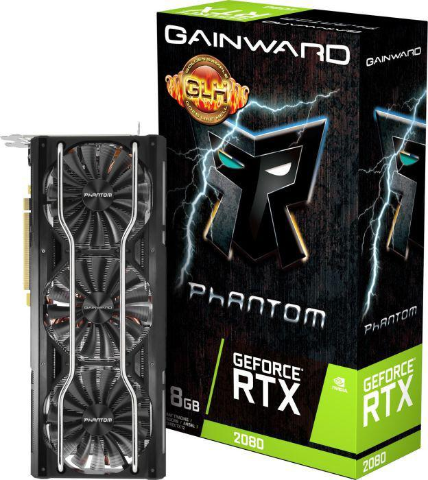 Gainward Gainward GeForce RTX 2080 Phantom 8GB GDDR6 256BIT