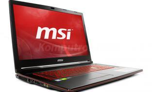 MSI GL73 9SE-264XPL - 120GB M.2 + 1TB HDD   16GB