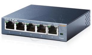 TP-LINK [TL-SG105] Przełącznik typu desktop, 5 portów
